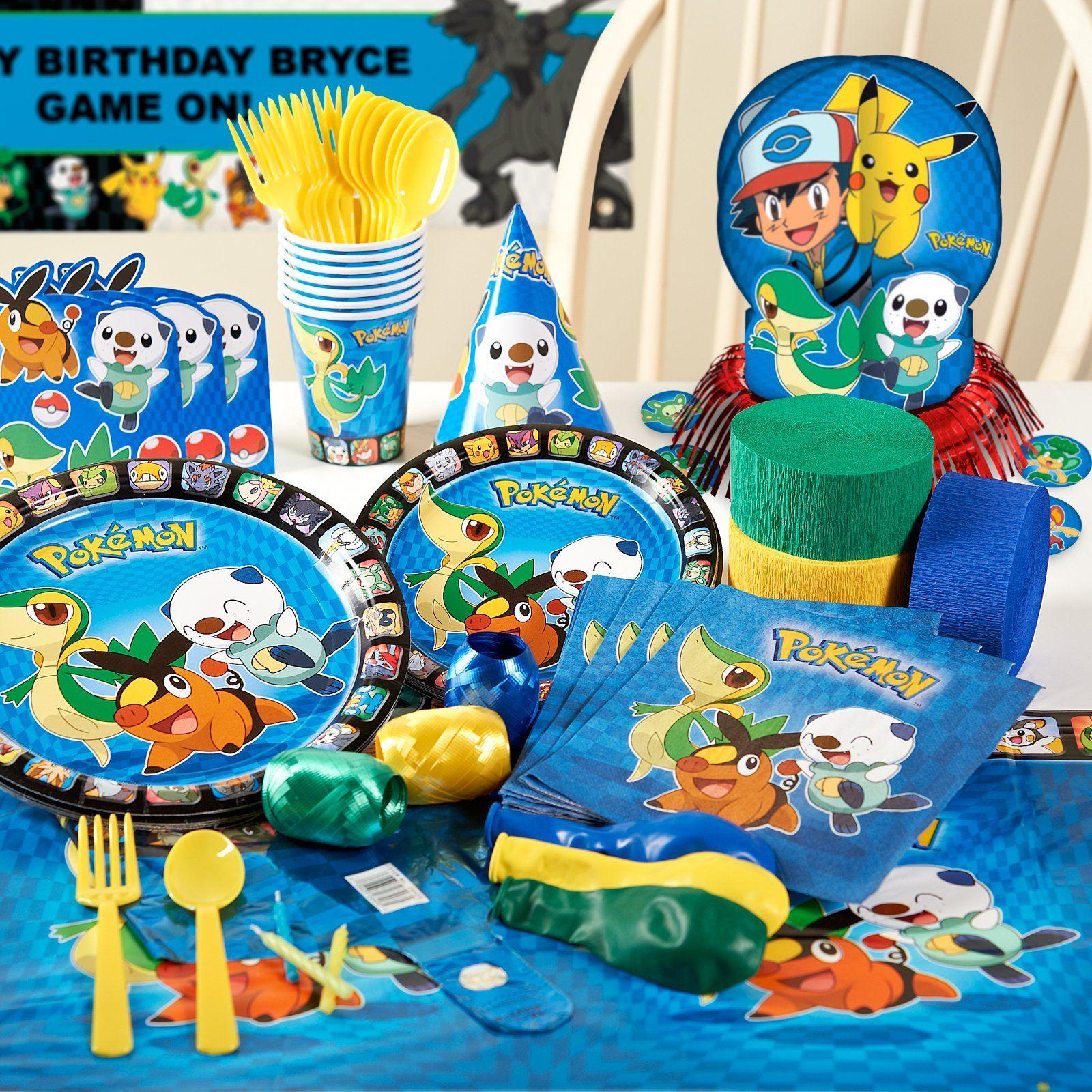 Pokemon Birthday Party Celebrations
