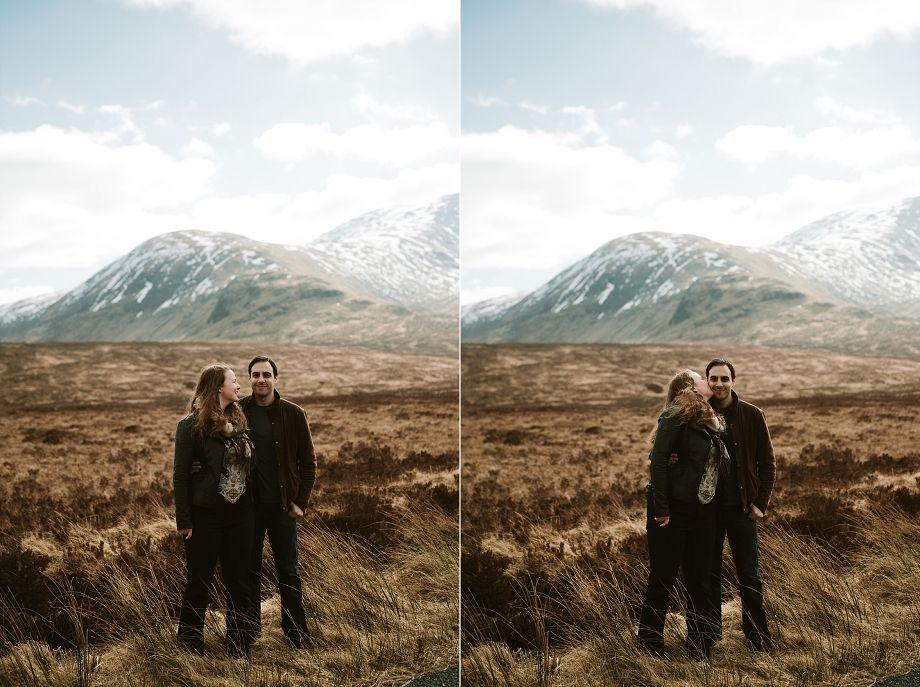 glencoe wedding photographers elopement video scotland quirky and alternative engagement