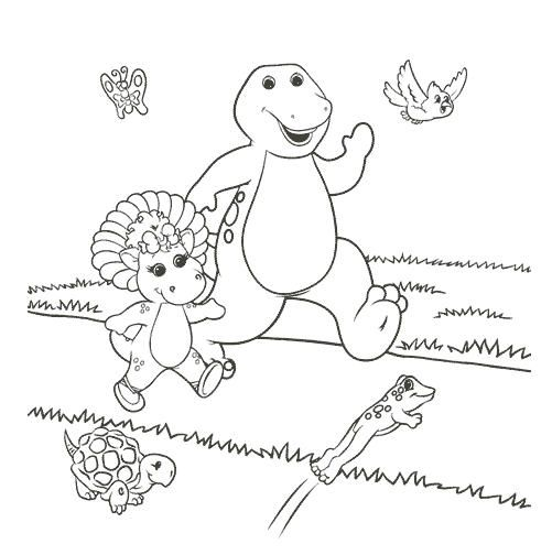 Free Printable Barney Coloring Pages Coloring Pages Free Coloring Sheets Barney Friends