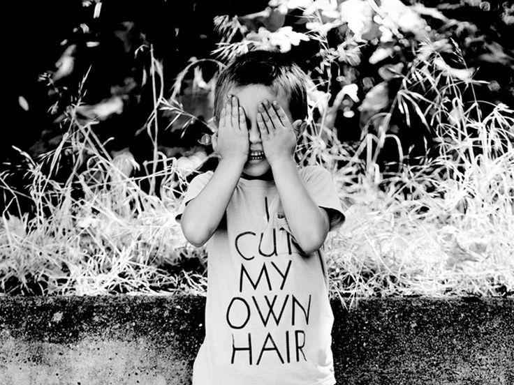 i cut my own hair