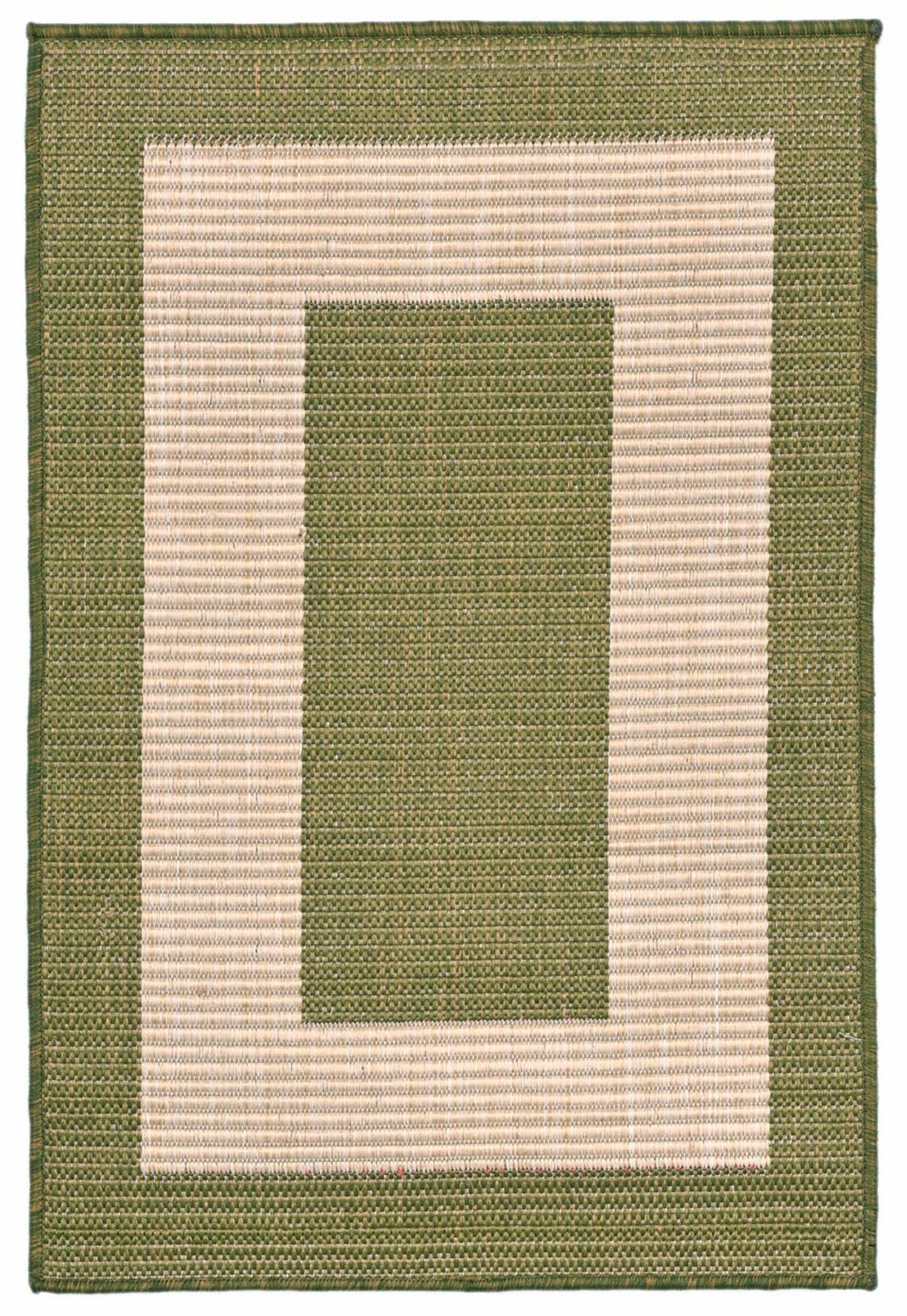 Terrace 1786/76 Border Green Rug
