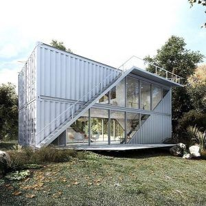 ✔41 modern container house design ideas 5 #housedesign #houseplans - worldefashion.com/decor #containerhouse