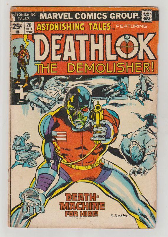 Astonishing Tales Vol 1 26 Bronze Age Comic by RubbersuitStudios #deathlok #comicbooks
