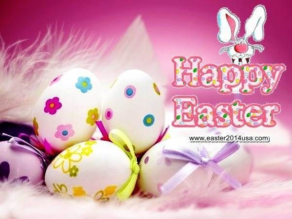 Happy Easter 2014 Eggs Photos Free for Facebook, FB, WhatsApp, WeChat