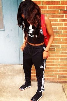 adidas joggers outfit