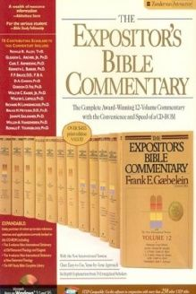 Expositor S Bible Commentary For Windows The 978 0310219873 Frank E Gaebelein Zondervan Publishing Company Windows Ver Bible Commentary Good Books Bible
