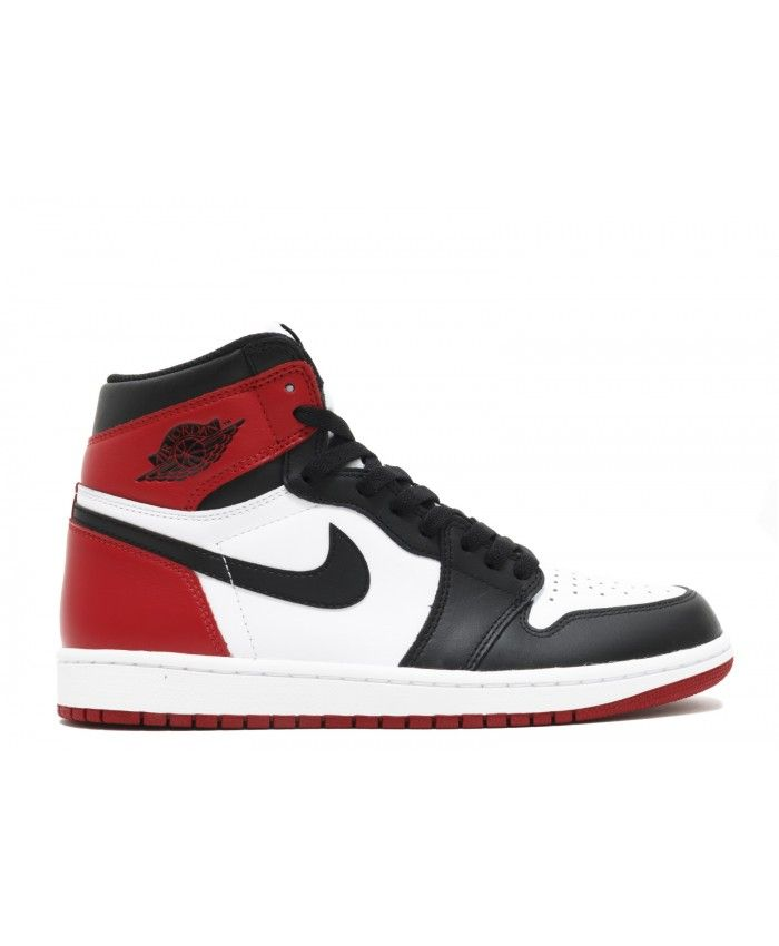promo code a3ad3 69dc5 Air Jordan 1 Retro High Og Black Toe 2016 Release White Black Varsity Red  555088 125