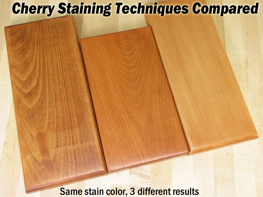 7 Techniques For Finishing Beech Woodworking Projects Cherry Wood Stain Woodworking Projects Wood Finishing Techniques