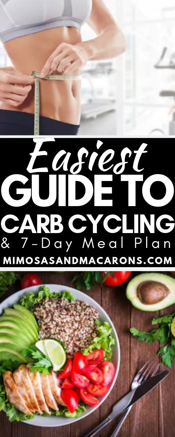 Carb Cycling for Beginners with 7-Day Meal Plan - Mimosas and Macarons #ketomealplan