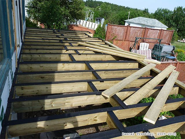 Decking A Wrap Around Deck. To Know How Decking: Http://www