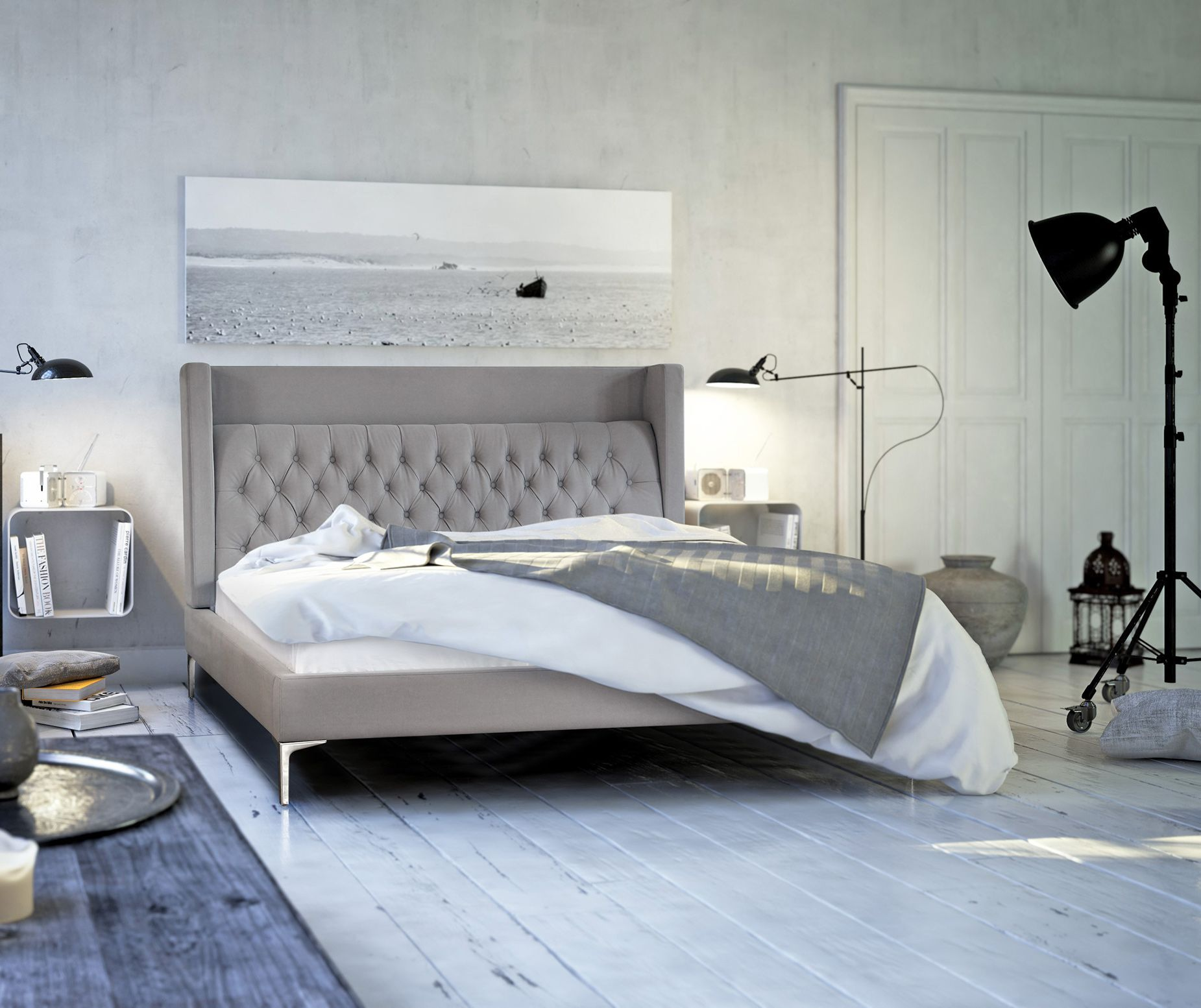 NIDO - Polsterbett | neuheiten | Pinterest | Polsterbett, Betten und ...