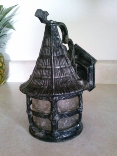 vtg gothic outdoor porch light 10 tall lamp outdoor porch lights