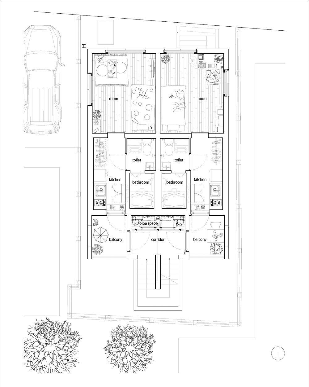 Housing S - Ryuji Fujimura Architects