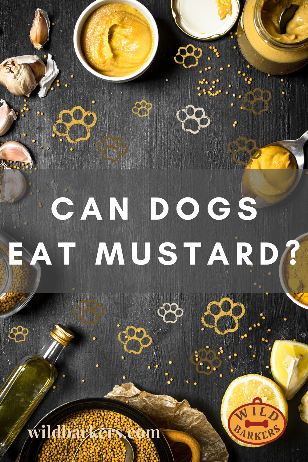Can Dogs Eat Mustard? In 2020