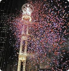 Peach Drop On New Year S Eve New Years Eve Atlanta New Year S Eve Celebrations New Year S Eve Around The World