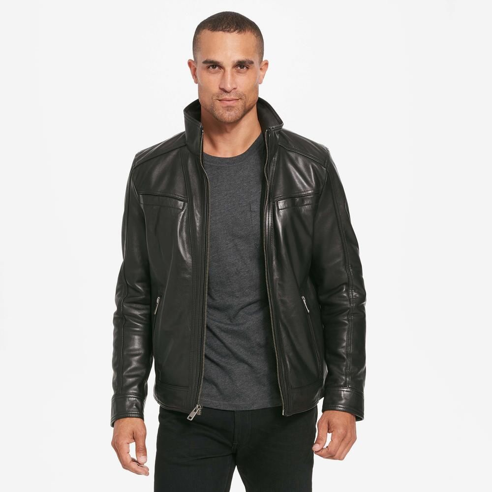 Wilsons Leather Vintage Genuine Leather Jacket W Seam Detail 279 99 Our Price Now Leather Jacket Vintage Leather Jacket Vintage Men [ 1000 x 1000 Pixel ]