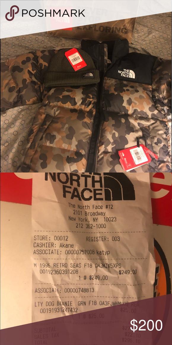 f801ba1ca North Face Jacket & Matching Hat! 2 Items #1.). North face Coat ...