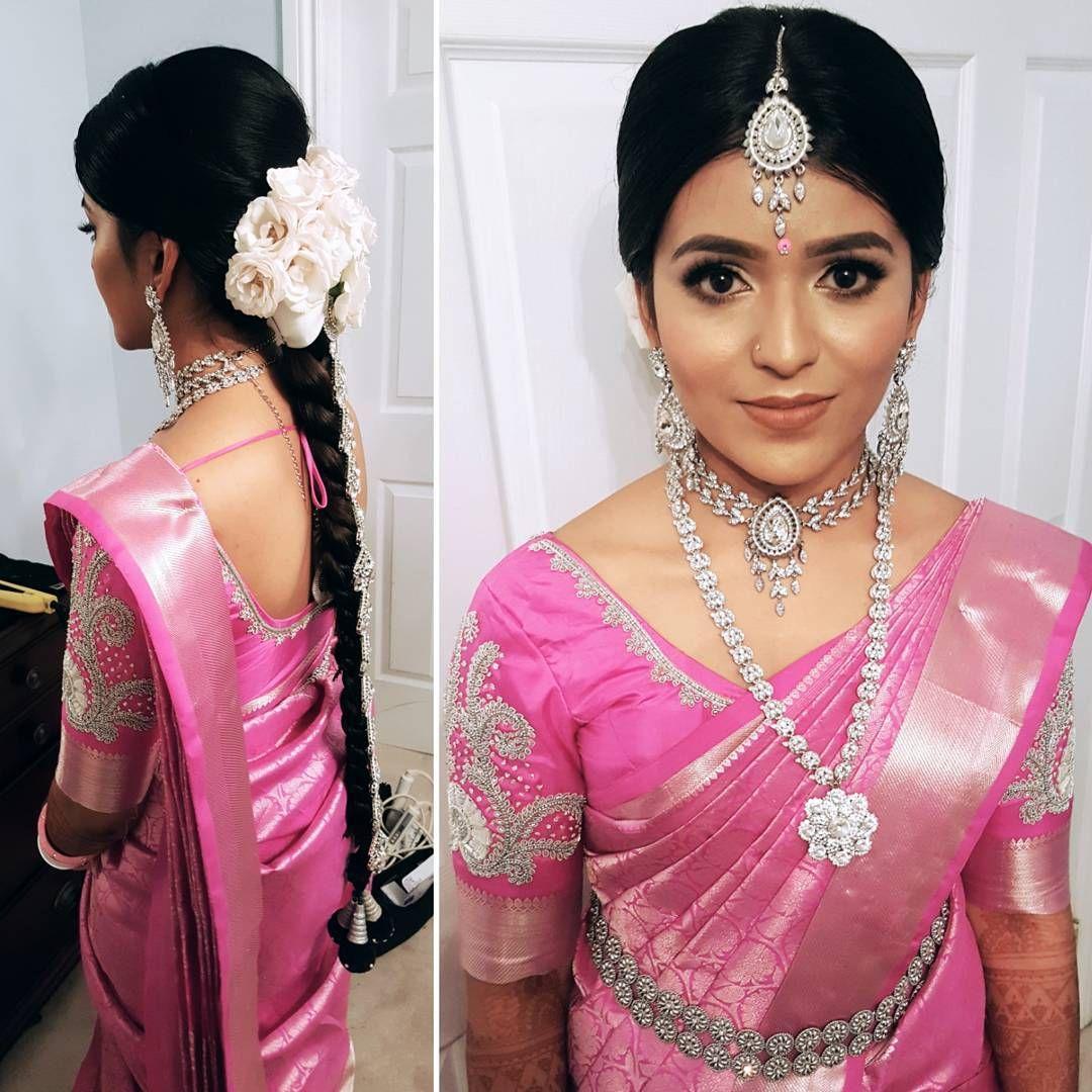 Pin by kalyani on Indian bride | Pinterest | Silk sarees, South ...