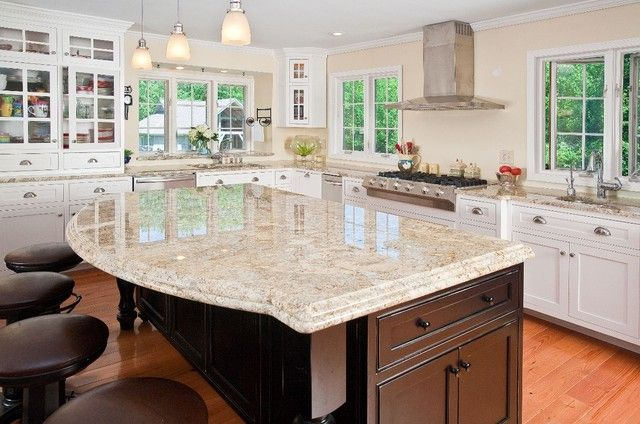 Best Colonial Gold Granite With White Cabinets Google Search 640 x 480
