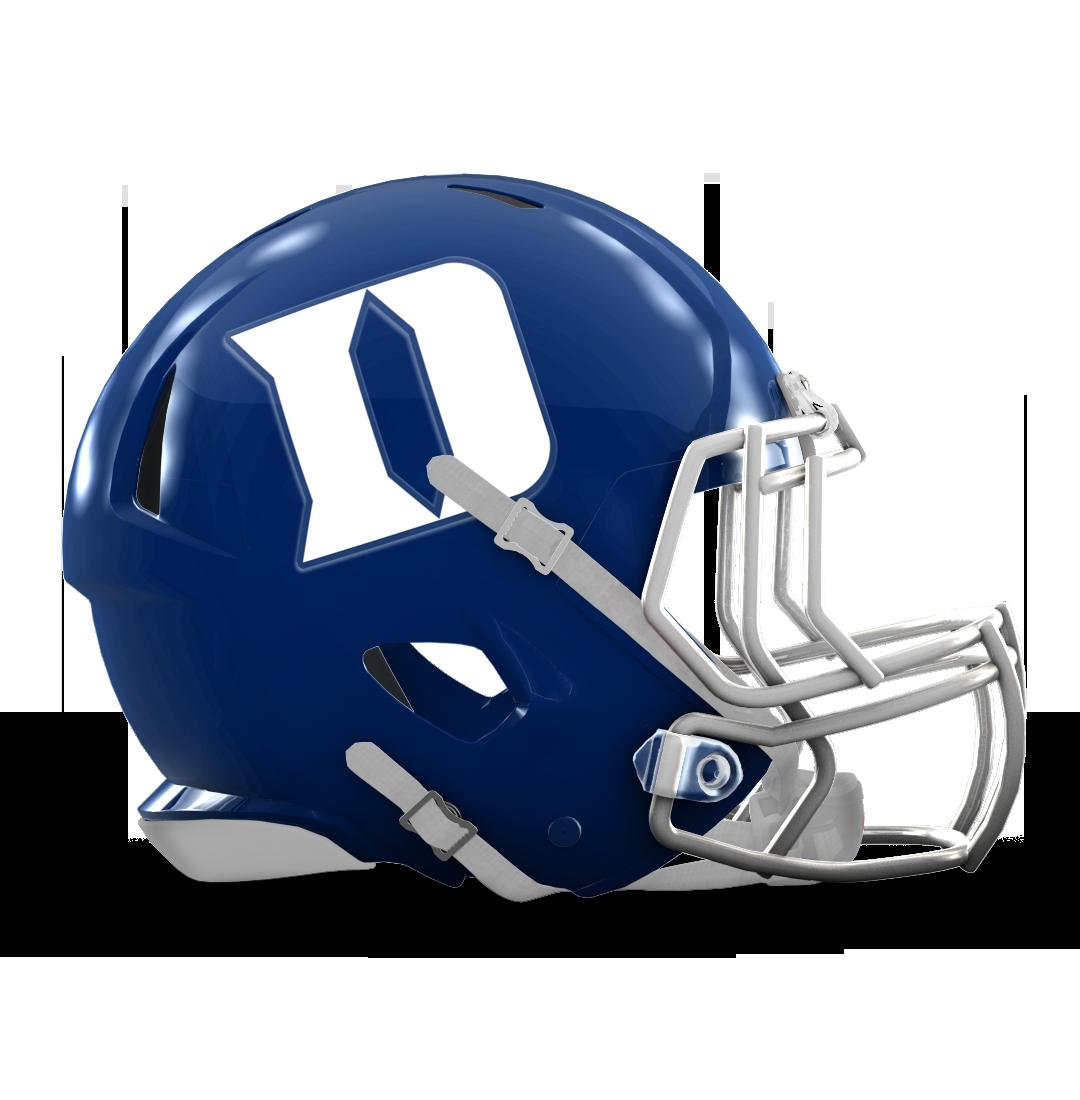 Duke Blue Devils Football Helmets Helmet Duke Blue Devils
