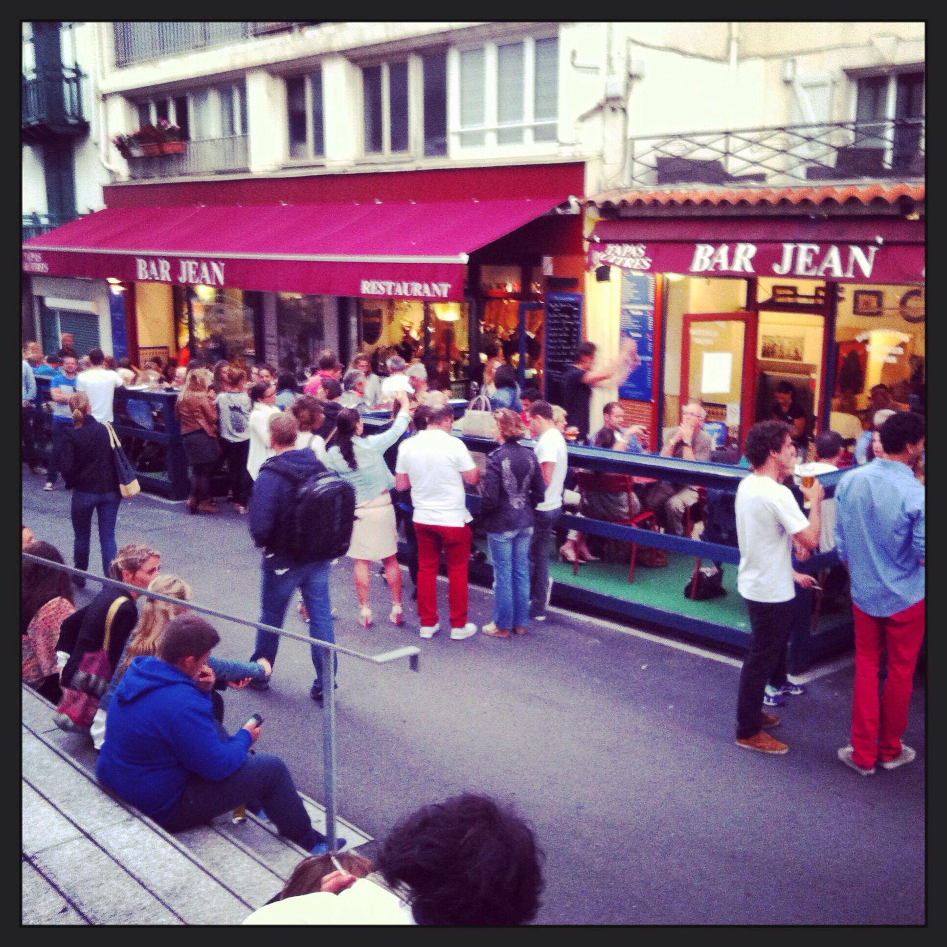 Le Bar Jean S Anime Biarritz Road Trip Trip