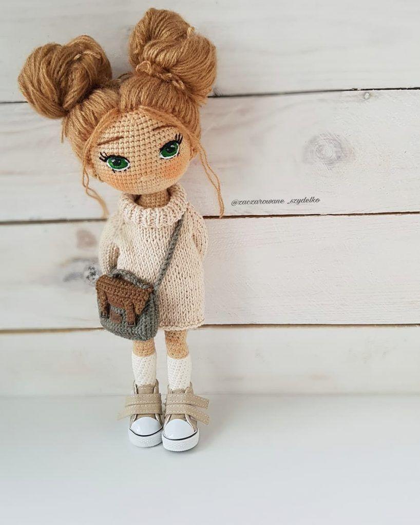 The Most Beautiful Amigurumi Doll Free Crochet Patterns – Free Amigurumi Crochet #crochetdolls