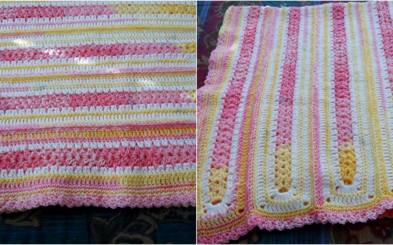 Easy Infant Baby Blanket Free Pattern Baby Crochet Pinterest