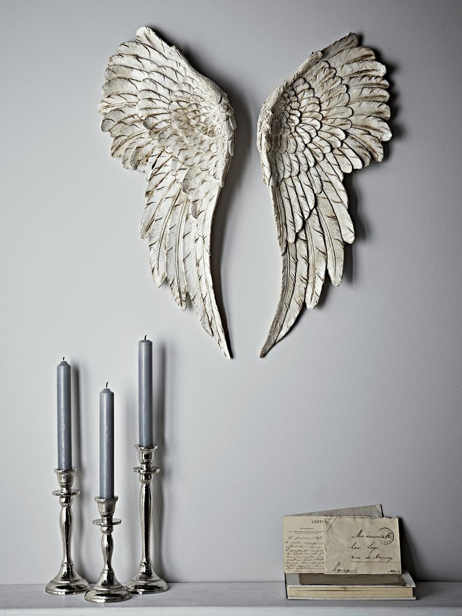 Carved Angel Wings