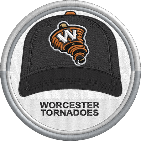 Worcester Tornadoes Baseball Cap Hat Sports Logo Canadian American Association Of Professional Baseball Minor League Baseball Sports Logo Baseball Glove