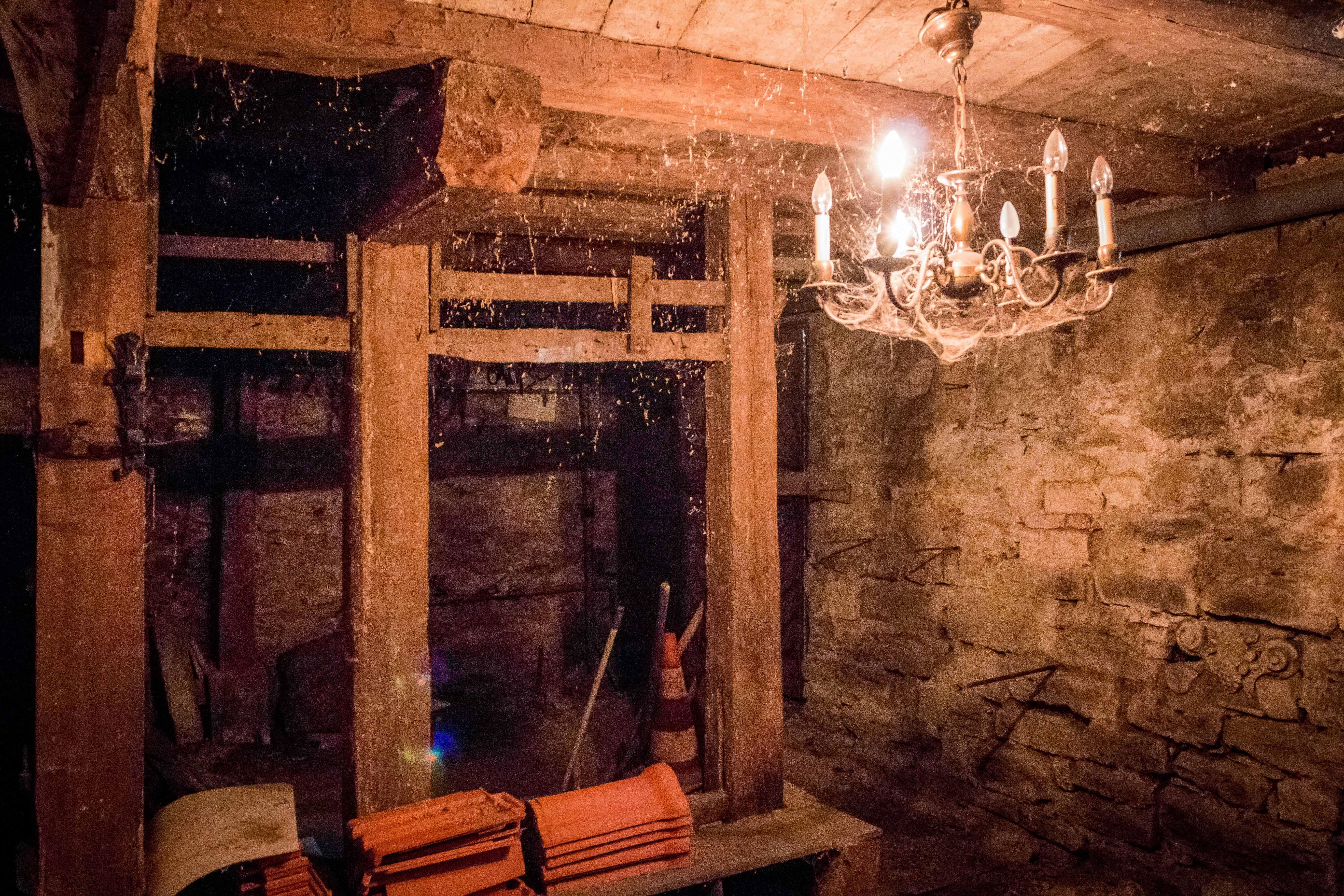 In dem einzigartigen Keller haben schon viele bekannte Künstler bei ...