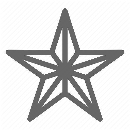 Dimension Geometry Shapes Star Icon Download On Iconfinder In 2020 Geometry Data Icon Icon