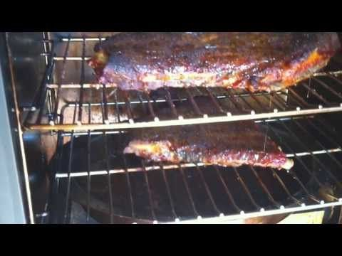smoking pork ribs on masterbuilt electric smoker youtube smoker pinterest. Black Bedroom Furniture Sets. Home Design Ideas