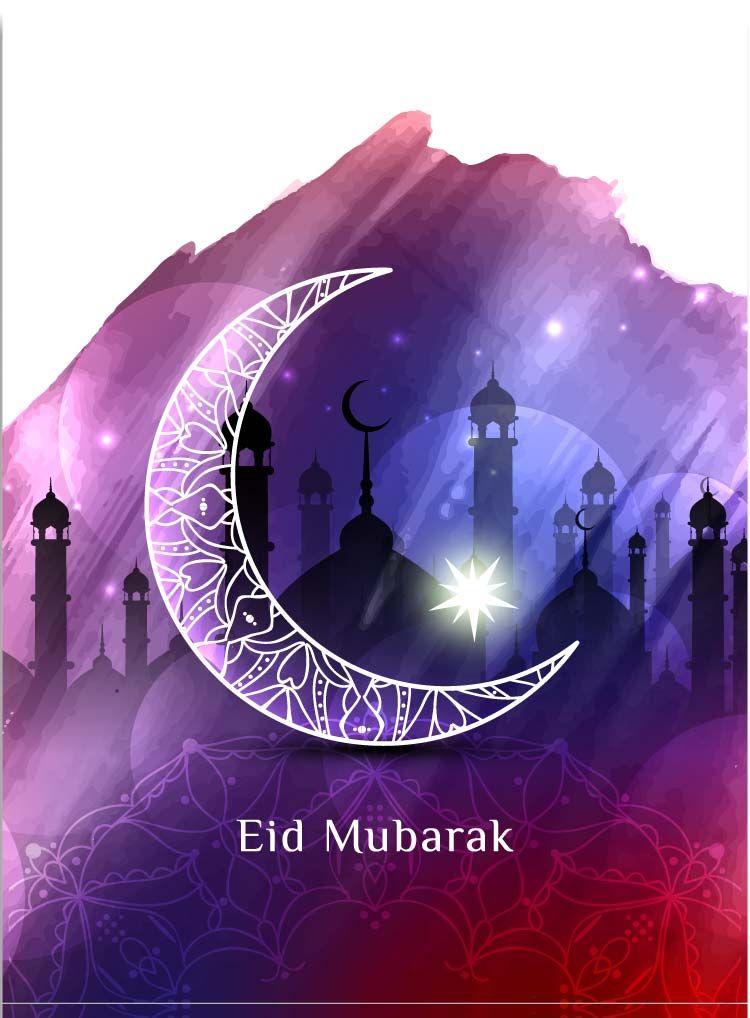 Happy Eid Mubarak Premium Images 2018 Free Download Dengan Gambar