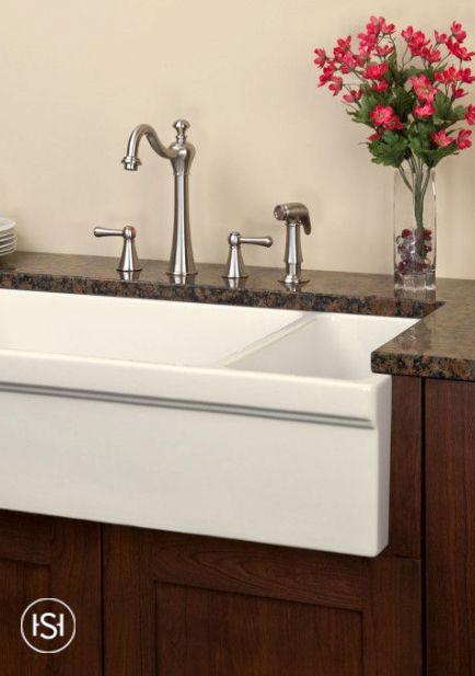 Get The Best Of Both Worlds With The Gallo Double Bowl Farmhouse Sink. It  Has A Reversible Design, Allowing You To Have The Bowls Situated In A Way  That ...