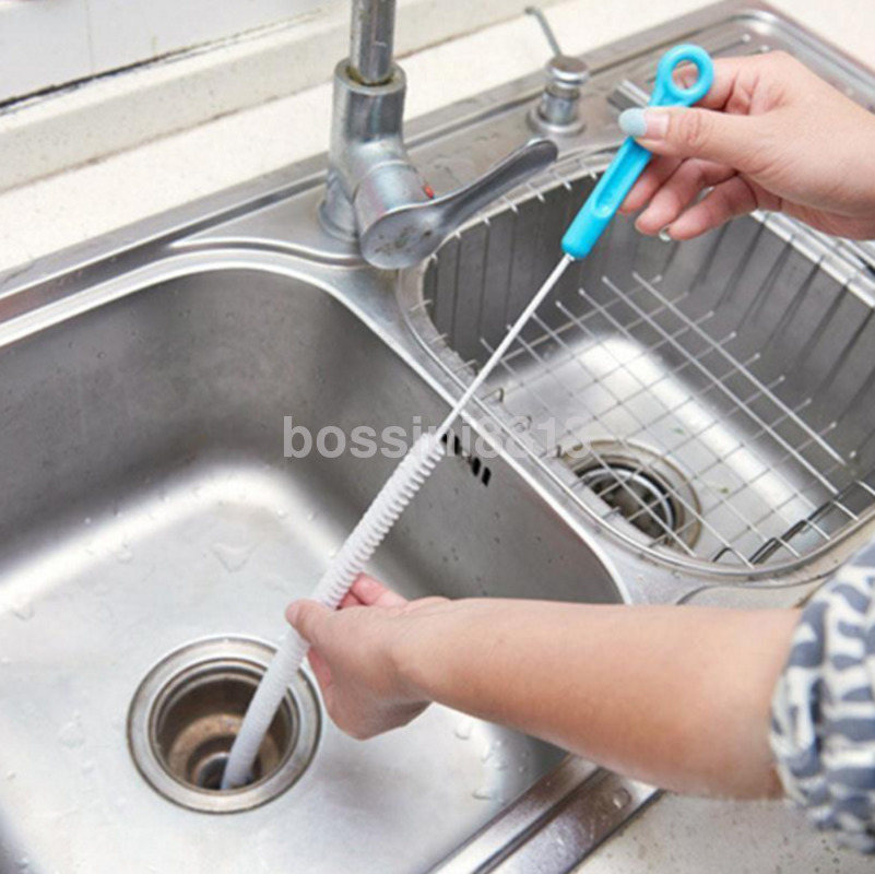 127 GBP - Sink Overflow Drain Unblocker Clean Brush Cleaner Kitchen