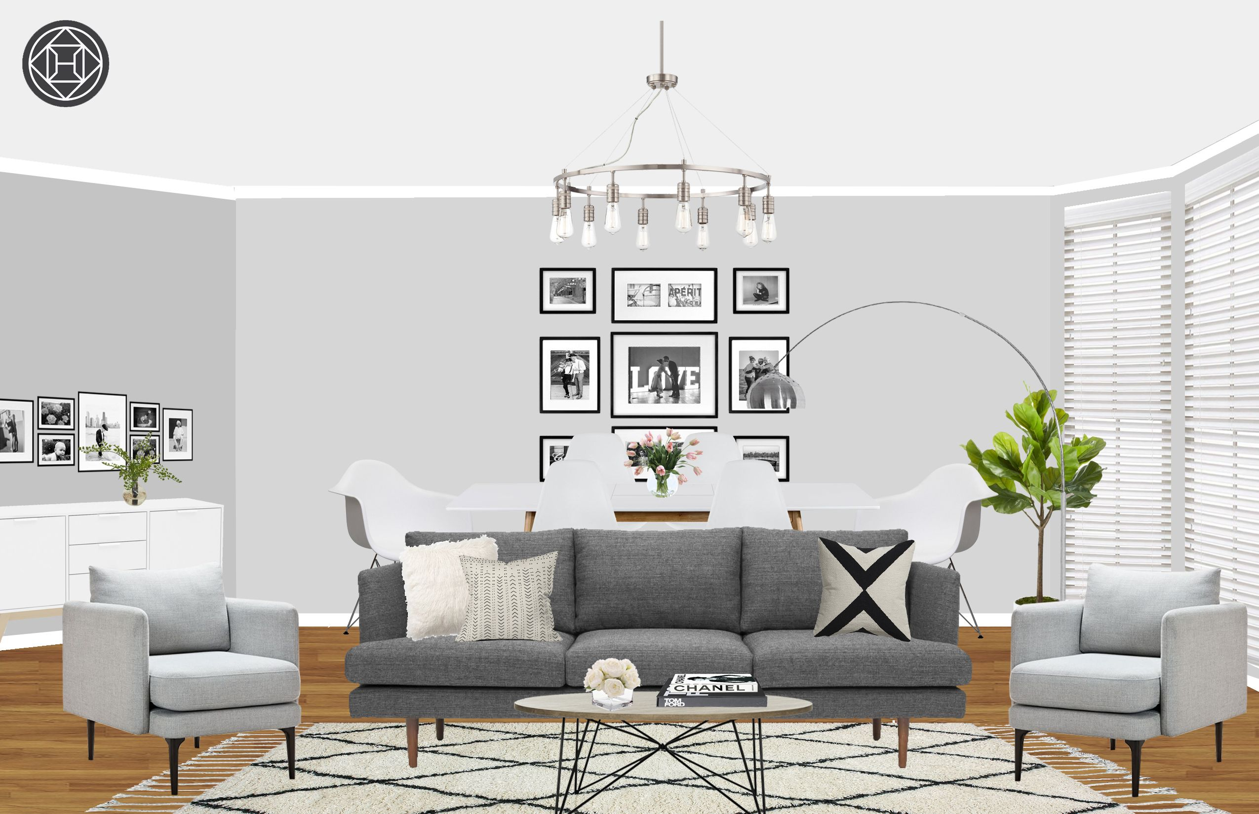 Contemporary, Modern, Eclectic, Midcentury Modern, Minimal ...