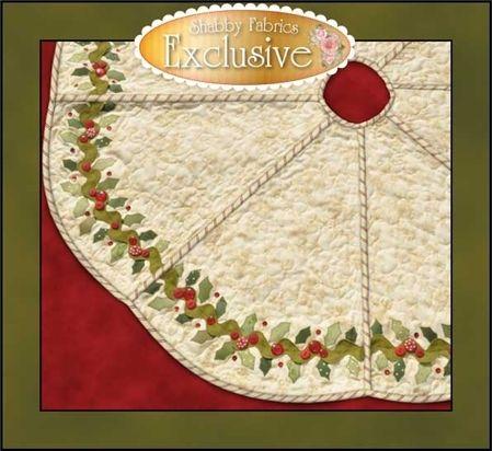 Bowood Tree Skirt Pattern