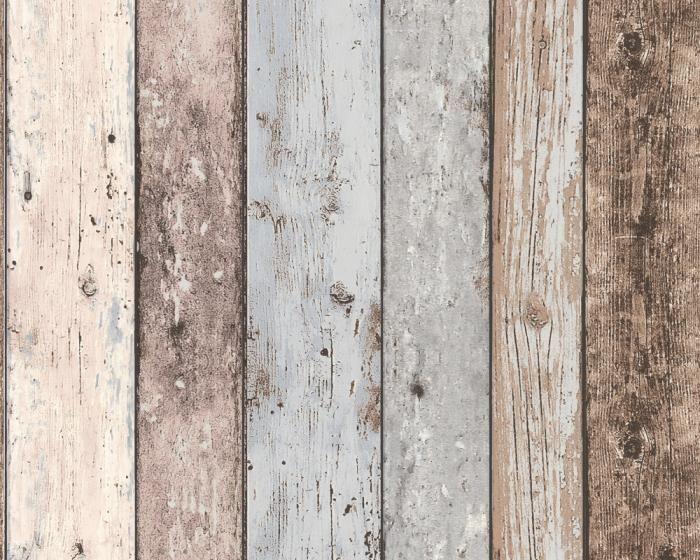 Vinyl Steigerhout Look : Steigerhout behang sloophout leuk