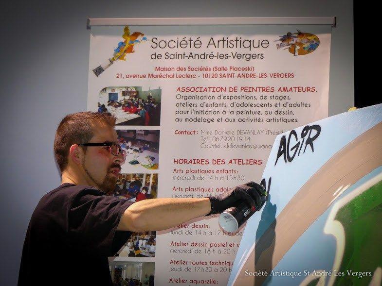 Street artist spécialiste de la récup Inspirations  Artistes