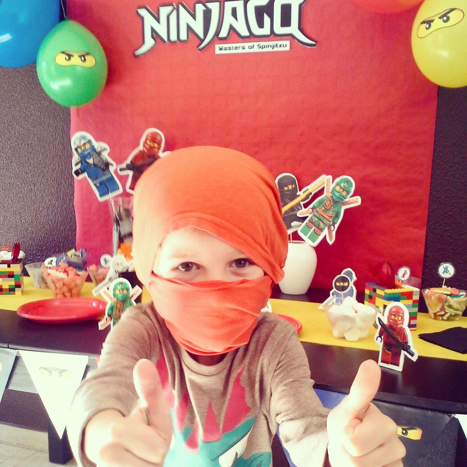 Un anniversaire de Ninjago (7 ans) | Anniversaire, Idée jeux anniversaire et Activite ...