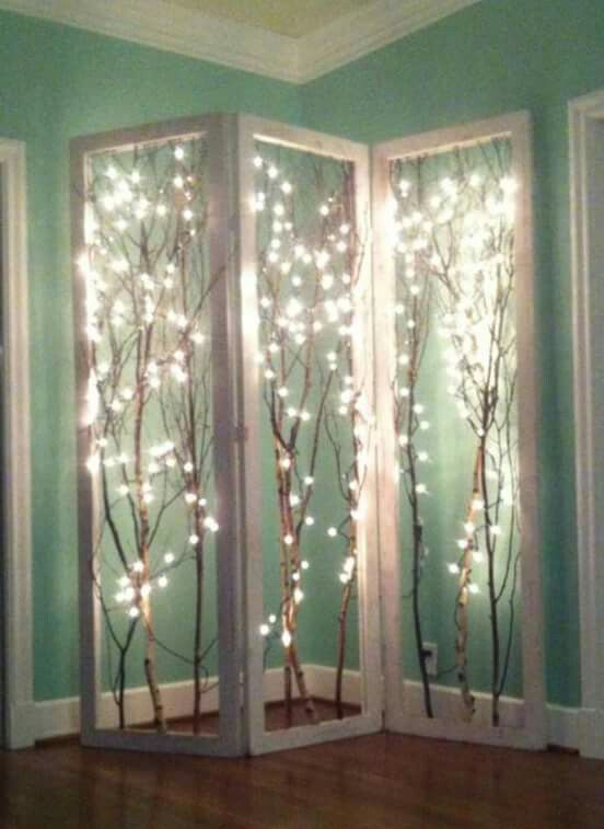 20 Amazingly Pretty Ways To Use String Lights | Pinterest | Estetica ...