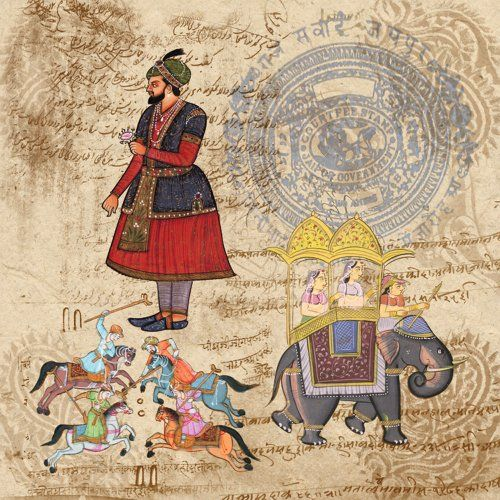 Dove Of The East 25 Sheet Maharaja Paper For Scrapbooking