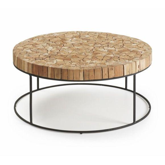 La Forma Olos Coffee Table 35 x 80 cm - Brown