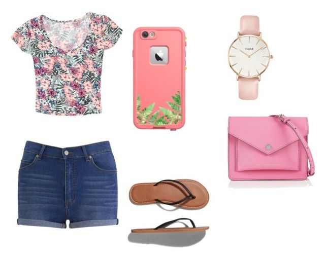 """""""Tropical outfit"""" by laurenflynn23 on Polyvore featuring Abercrombie & Fitch, Cheap Monday, Grayson, CLUSE and Marc by Marc Jacobs"""