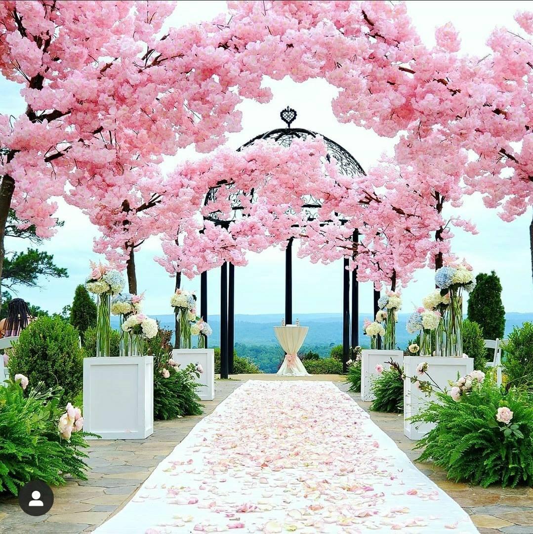 Top 10 Wedding Decor Ideas Artificial Cherry Blossom Tree Cherry Blossom Tree Cherry Blossom Decor