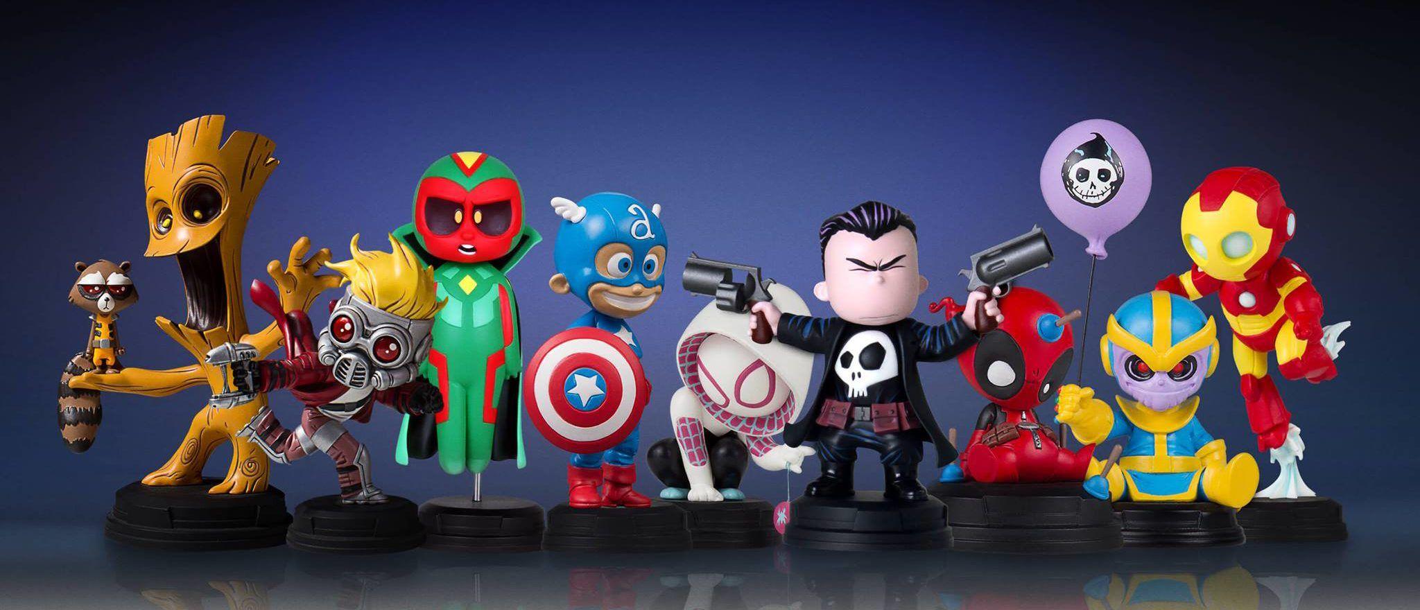 Skottie-Young-Marvel-Babies-Statues-Complete-Lineup-Gentle-Giant-e1484843522772.jpg (2048×880)