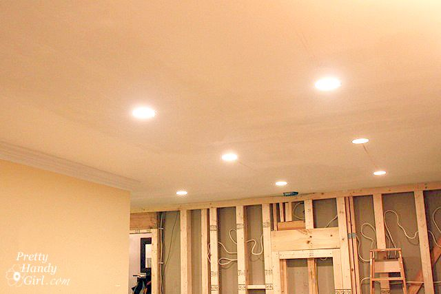 How to install recessed lights semi flush lighting ceilings and how to install recessed lights pretty handy girl aloadofball Image collections