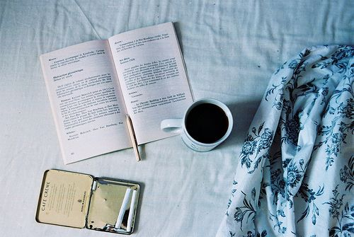 my favourite activities-coffee and reading