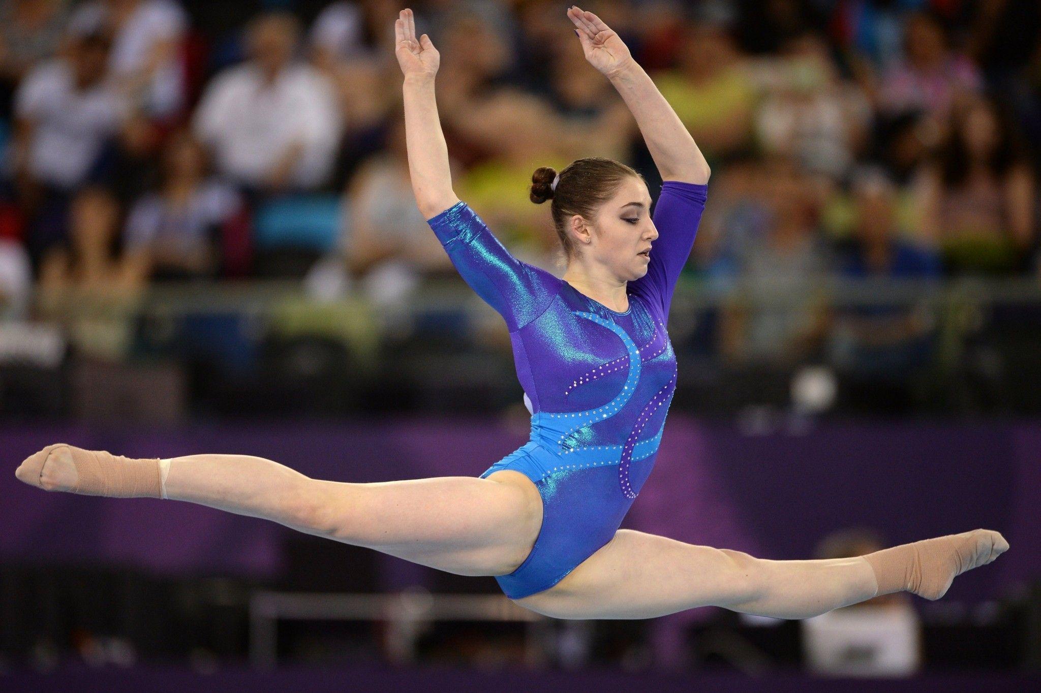 женская спортивная гимнастика фото как