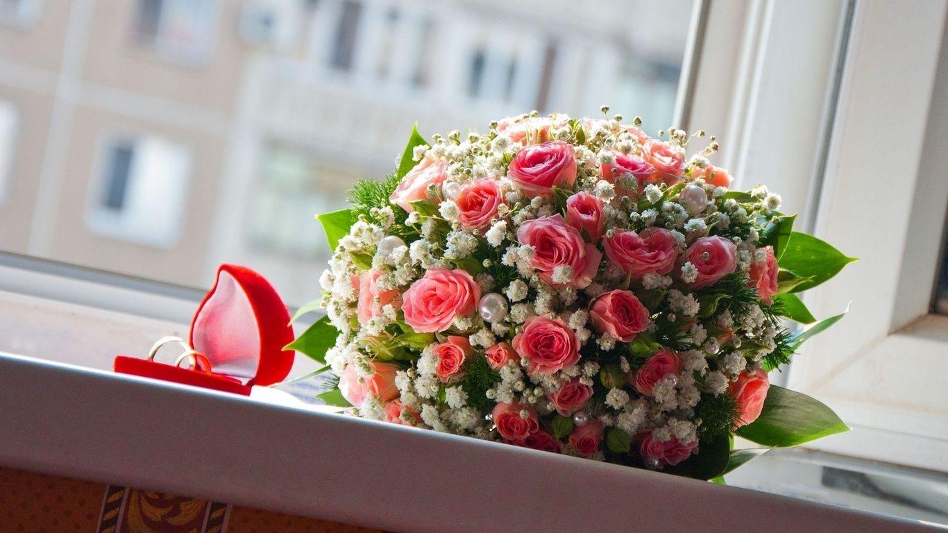 Ramos de rosas hermosas flores hermosas ramo anillos - Ramos de flores grandes ...